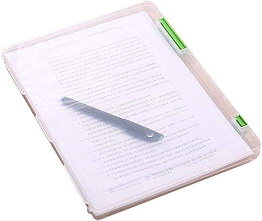 Censhaorme A4 del Archivo de Almacenamiento Caja Transparente de ...