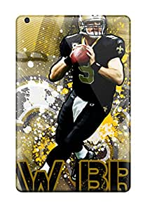 Hot Hot Snap-on Drew Brees Hard Cover Case/ Protective Case For Ipad Mini 3 4558432K98363511