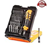 Premium Screwdriver Set, Driver Kit, Professional Repair Tool Kit, 33 in 1 with 29 Bits Precision Screwdriver Kit, Flexible Shaft, for iPhone 7, 8, 8 Plus, X/Smartphone/Game Console/Tablet/ PC, etc