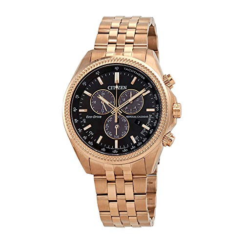Citizen Watches Men's BL5563-58E Brycen Rose Gold Tone One Size