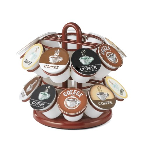 Nifty 5581 Mini Carousel for K-Cups, Red