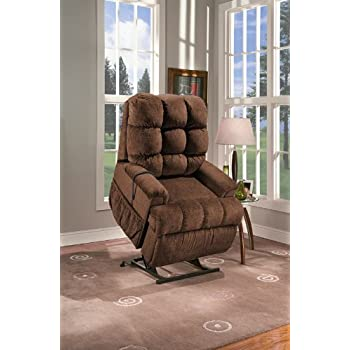 Amazon.com: Med Lift 5555 Full Sleeper Lift Chair (Cabo Havanna ...