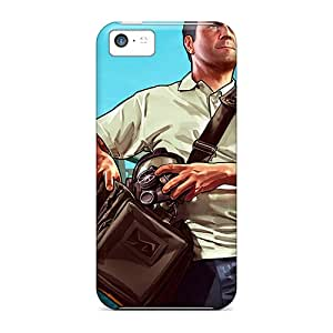 Premium Protection Michael Gta Case Cover For Iphone 5c- Retail Packaging