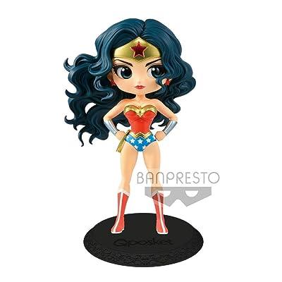Bandai - Figurine DC Wonder Woman Movie - Wonder Woman Pastel Color Q Posket 15cm - 3296580827510: Toys & Games