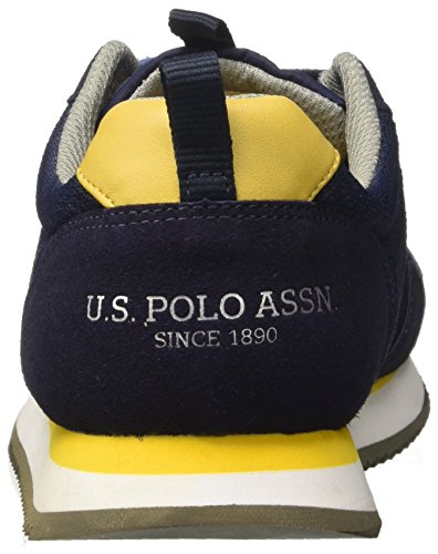 U.S.POLO ASSN. Herren Talbot1 Sneaker Blu (Dark Blue)