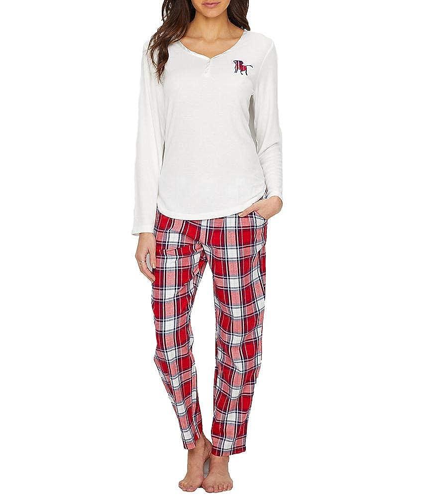 ED Ellen DeGeneres Dog Flannel Pajama Set E70021
