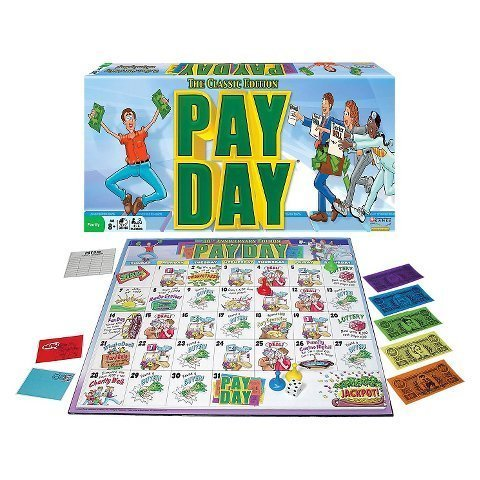 instructions for the board game payday - 2