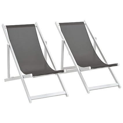 Sedie Da Mare Pieghevoli.Fesjoy Sdraio Da Giardino Lettino Sedie Da Spiaggia