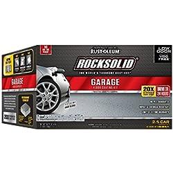 Rust-Oleum 293513 Polycuramine 2.5 Car Garage Floor Kit, Gray