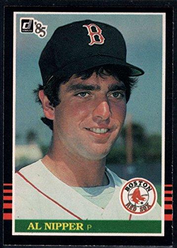 Single Nipper (Baseball MLB 1985 Donruss #614 Al Nipper UER/ RC Red Sox)