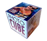 Lucite desktop cube photo frame for 6 photos 3.5x3. Deal