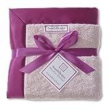SwaddleDesigns Stroller Blanket, Jewel Tone Trim, Very Berry