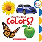 Can You Find Colors?[CAN YOU FIND…