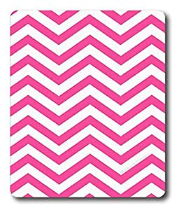 blank mouse pads for printing Pink Chevron Best PC Custom Mouse Pads / Mouse Mats Case Cover