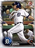 2016 Bowman Prospects #BP123 JaCoby Jones Detroit Tigers Baseball Card in Protective Screwdown Display Case