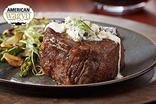 2 (8oz) Wagyu Kobe Style Filet Mignon - Chicago Steak Company - WAG150 2 8OZ