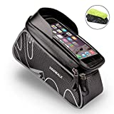 VANWALK in Frame Bike Bicycle Bag with Waterproof Touch Screen Phone Case for iPhone X 8 7 6s 6 Plus 5s 5 / Samsung Galaxy s7 s6 Note 7 Cell Phone Below 6.0 Inch + Rain Cover