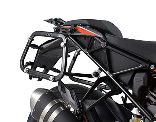 (SW-MOTECH QUICK-LOCK EVO Side Carriers to fit Many Side Case Types for KTM 1290 Super Duke GT '17)