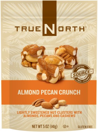 (TrueNorth Nut Clusters, Almond Pecan Crunch, 5 Ounce (Pack of 12))