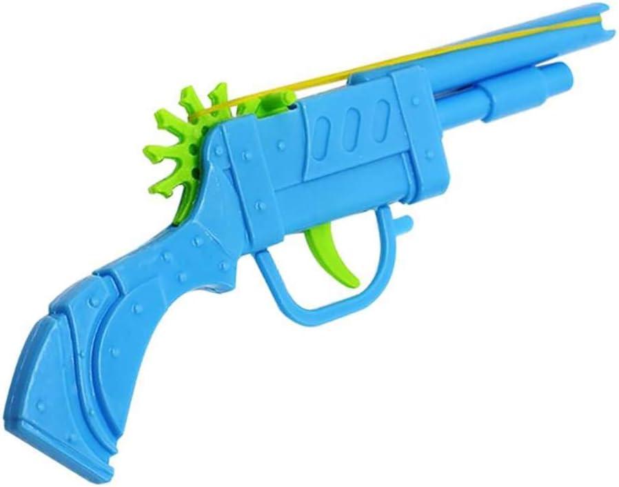 Launcher Toy Gun Hand Pistol Guns Shooting Toy Gift Boys Outdoor Game Fun Toy