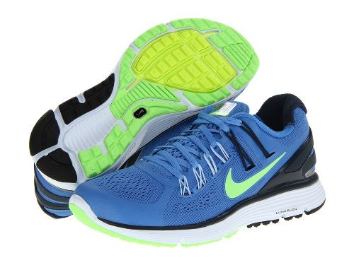 fd8b3e3c8875 Image Unavailable. Image not available for. Color  Nike Lunareclipse+ 3  Women s Distance Blue Armory Navy Flash Lime Reflect Silver Running