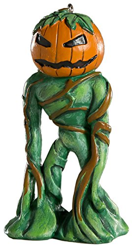 Pumpkin Man Horror Ornament - Scary Prop and Decoration for Halloween, Christmas, Parties and Events - By HorrorNaments