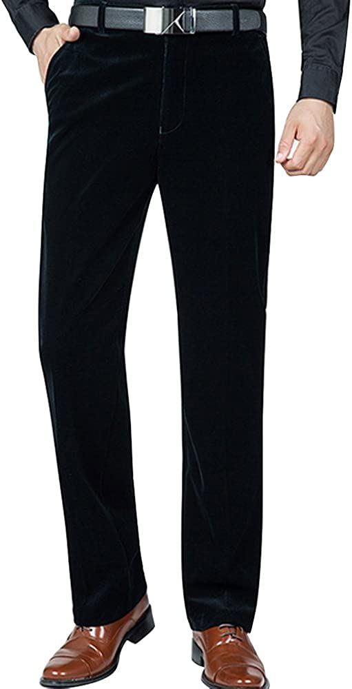 ZONGMIC Pantalon Homme en Velours C/ôtel/é Coupe Droite Tissu Confortable pour lAutomne Hiver
