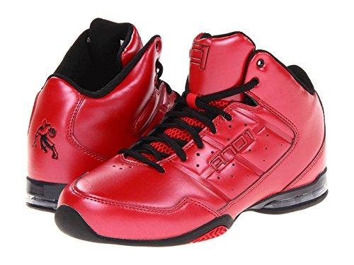 And1 Hombre Maestro Mid Basketball Shoe Varsity Rojo / Varsity Rojo / Negro