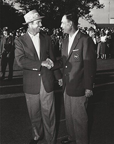 (Golf 1954 Sam Snead & Ben Hogan 1954 wearing green jackets - 20