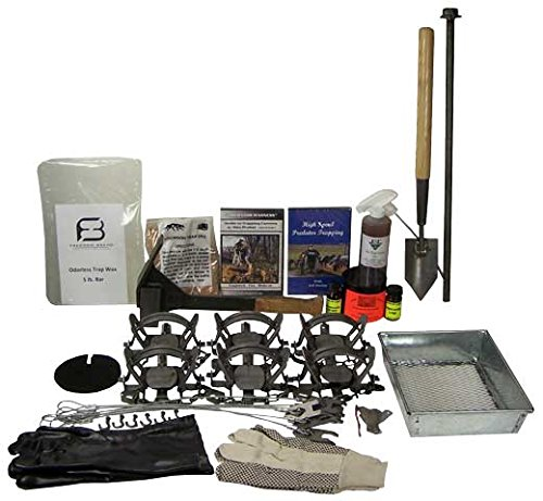 F&T Predator Trapping Starter Kit Bundle by F&T Fur Harvester's Trading Post