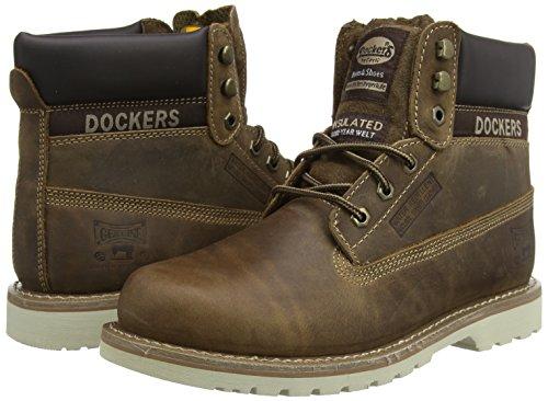 Dockers Militari 33cr001 desert Braun By 400460 Stivali Uomo 460 Gerli U7USwr