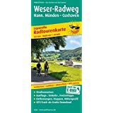 Weser-Radweg, Hann. Münden - Cuxhaven: Leporello Radtourenkarte mit Ausflugszielen, Einkehr- & Freizeittipps, wetterfest, reissfest, abwischbar, GPS-genau. 1:50000 (Leporello Radtourenkarte / LEP-RK)