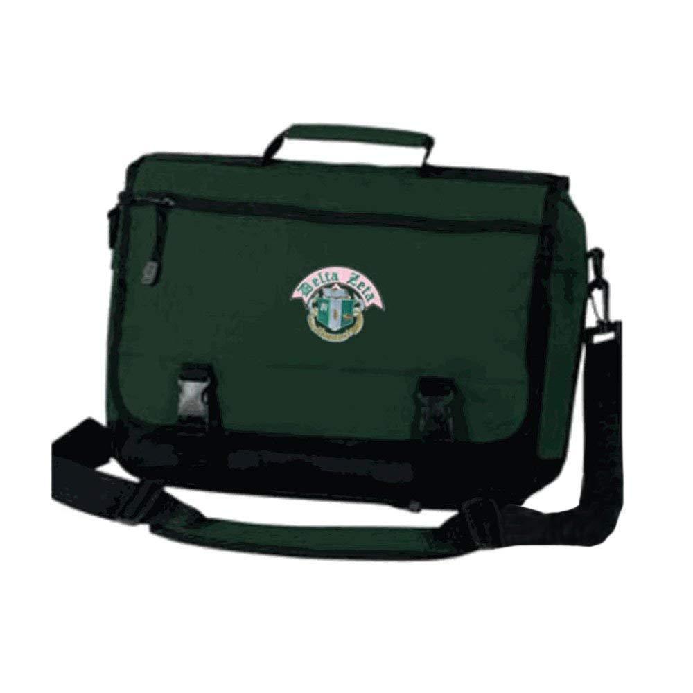 Greekgear Delta Zeta Emblem Briefcase Green