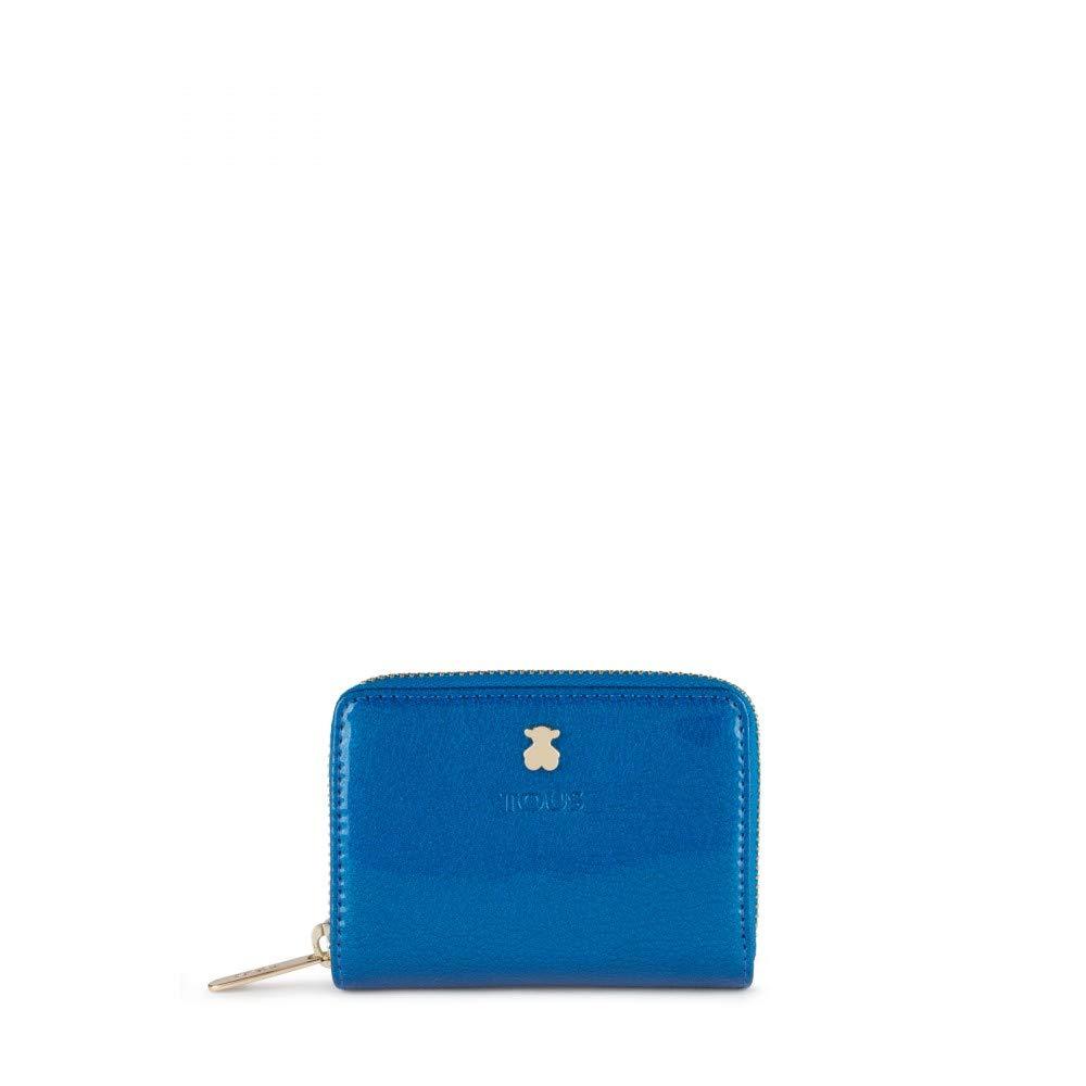 Monedero para Mujer Tous Dorp 10 x 8 x 2.5 cm Azul
