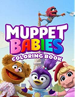 Muppet Babies Coloring Book Great Activity Book For Kids Steven