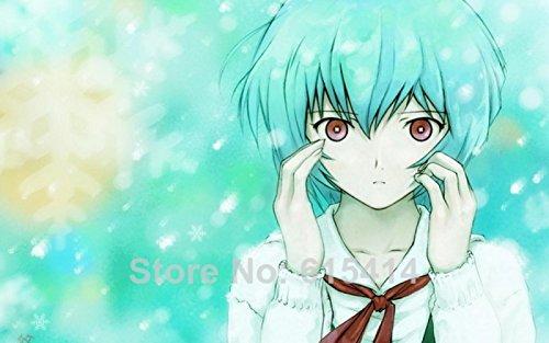 Anime family 018 Neon - Genesis Evangelion Ayanami Rei Fighting ()