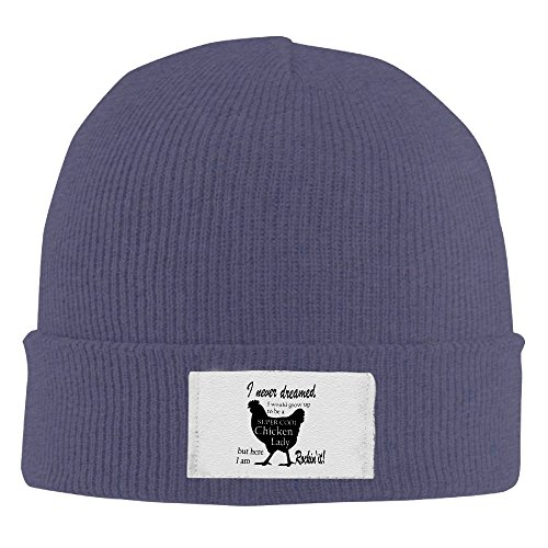 Hipster Beanie SuperCool Chicken Personalized Cool Winter Hats Warm (Chicken Hats)