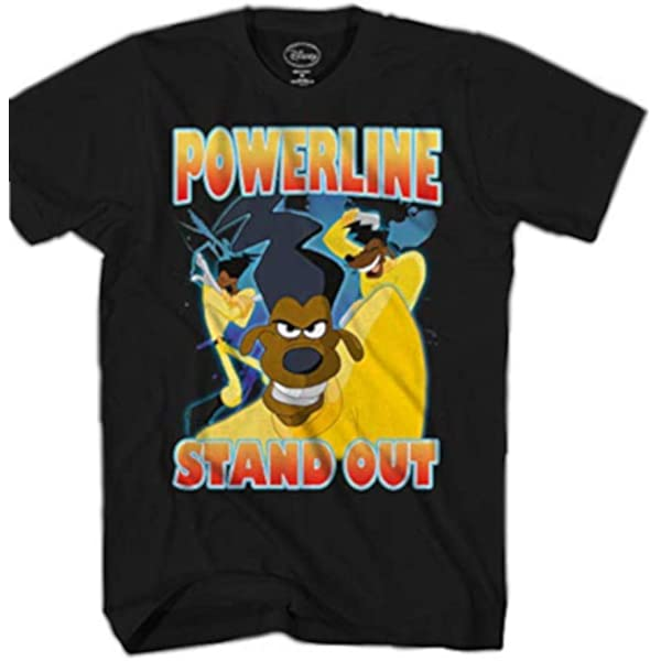 Disney A Goofy Movie Powerline Stand Out Long Sleeve T Shirt BoxLunch Exclusive