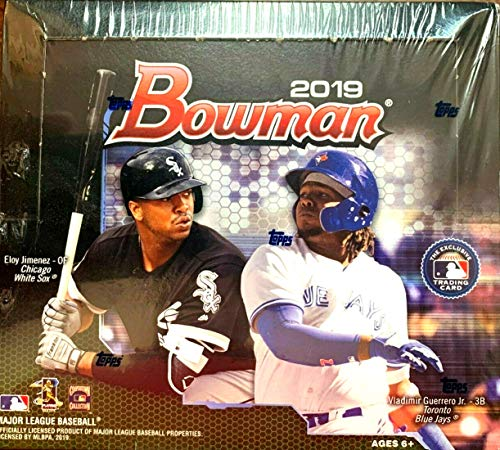 2019 Bowman Baseball Card - 2019 Bowman MLB Baseball RETAIL box (24 pk)