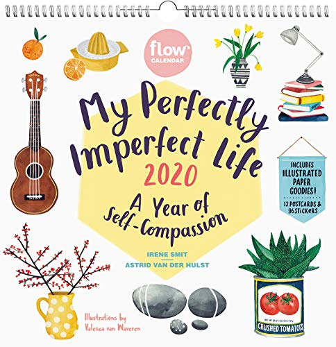 My Perfectly Imperfect Life Wall Calendar 2020 (Flow)
