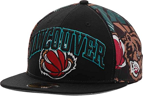 Vancouver Grizzlies NBA Hardwood Classics 59FIFTY Fitted Cap