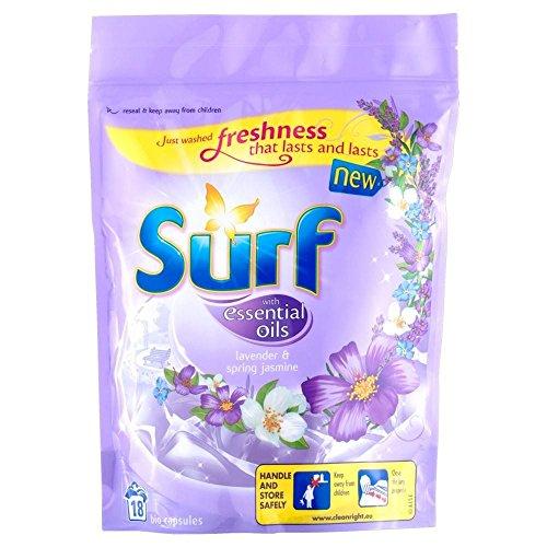 (Surf Bio Essential Oils Capsules Lavender & Spring Jasmine - 18 Washes (18) )