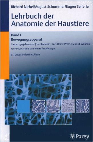 Lehrbuch der Anatomie der Haustiere. Gesamtausgabe, 5 Bde.