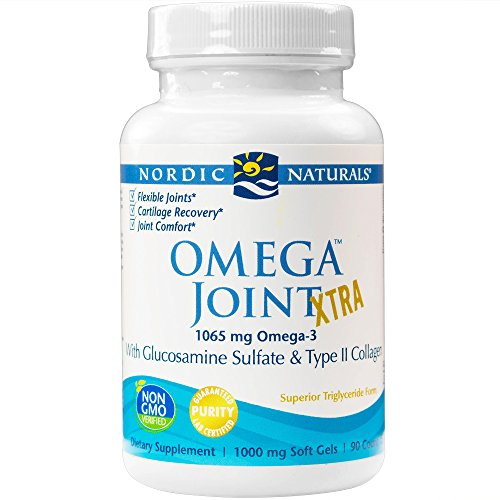 Omega Repair 3 (Nordic Naturals - Omega Joint Xtra, With Glucosamine Sulfate & Type II Collagen, 90 Soft Gels (FFP))