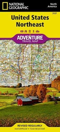 United States, Northeast (National Geographic Adventure Map)