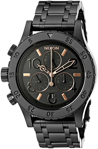 nixon-womens-a404957-38-20-chrono-analog-display-japanese-quartz-black-watch