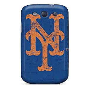 Unique Design Galaxy S3 Durable Tpu Case Cover New York Mets