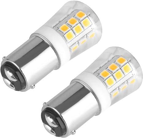 14402NW Neutral White LEDwholesalers Bayonet Dual Contact BA15d Base Omnidirectional 2-Watt LED Light Bulb 12 Volt AC//DC or 10-30V DC