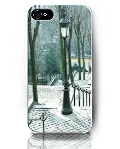 Exquisite Colored Pattern - Night Lights on the Garden - UKASE Back Case Cover Protector Skin for iPhone 4/4S