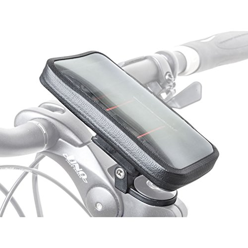 Author Fahrrad Tasche Shell L Handytasche Sichtfenster für Touchscreen schwarz